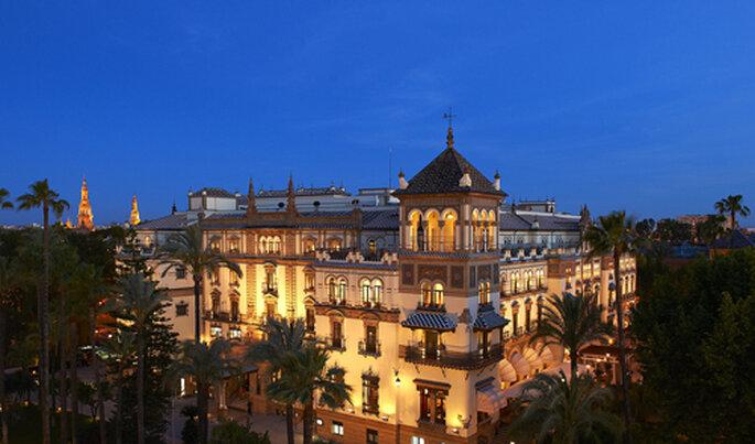 Exterior del Hotel Alfonso XIII de Sevilla- Foto: Hotel Alfonso XIII