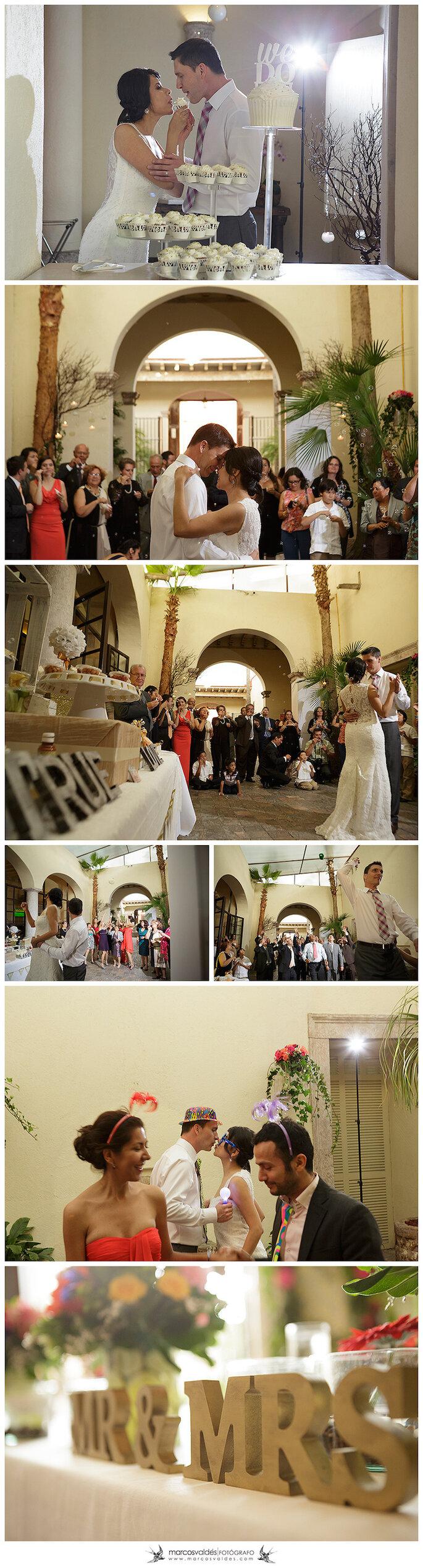 Cristina y Cory: una ceremonia mexica encantadora - Foto Marcos Valdés