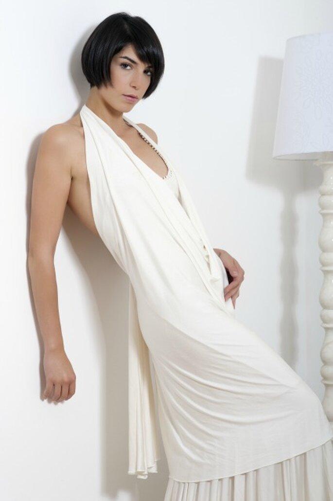 Robe de mariée sur mesure - Odile Léonard - Crédit photo : Michael Guichard