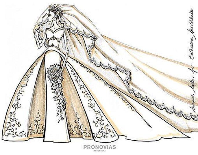 Manuel Mota - 3 propostas para o vestido de noiva da Kate Middleton