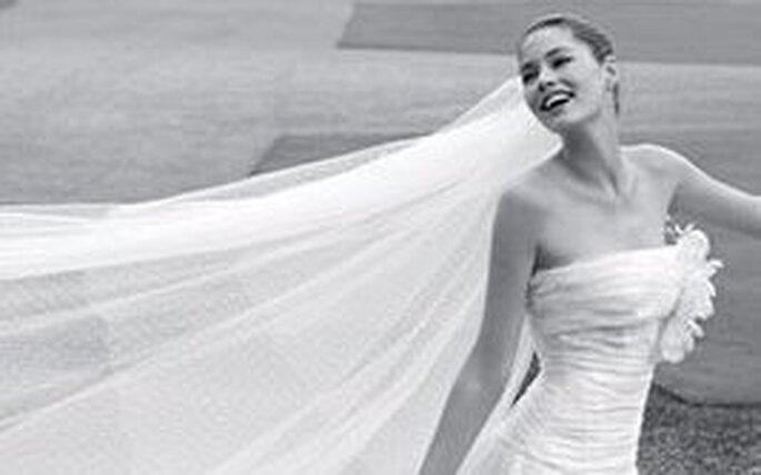 Ein Schleier kann den Look einer Braut abrunden