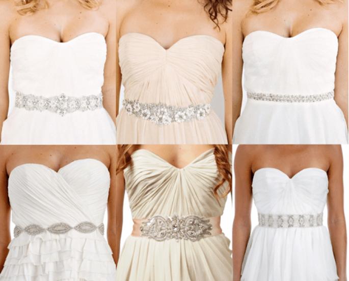 Pedreria para vestidos novia