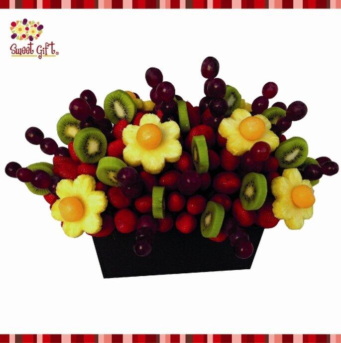 Fruta para tus centros de mesa.  Foto de Sweet Gift