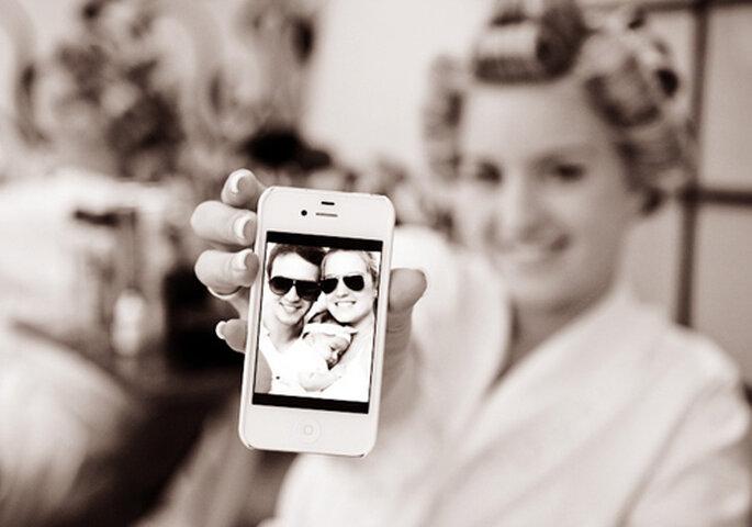 Utiliza las nuevas tecnologías en tu boda. Foto: Paulo Heredia