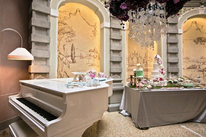 Allestimenti: Nana&Nana Cakes + The flowers lab - Foto: Morlotti Studio
