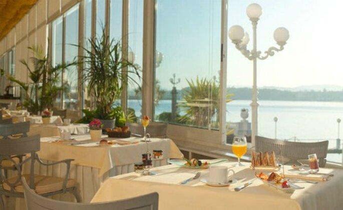Desayuna viendo al mar en el Gran Hotel La Toja- Foto: Gran Hotel La Toja