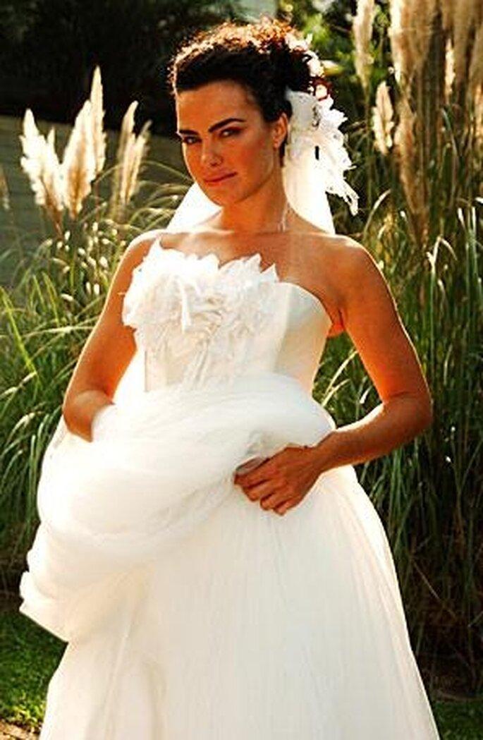 Novela Páginas da Vida: Olívia em seu casamento com Silvio