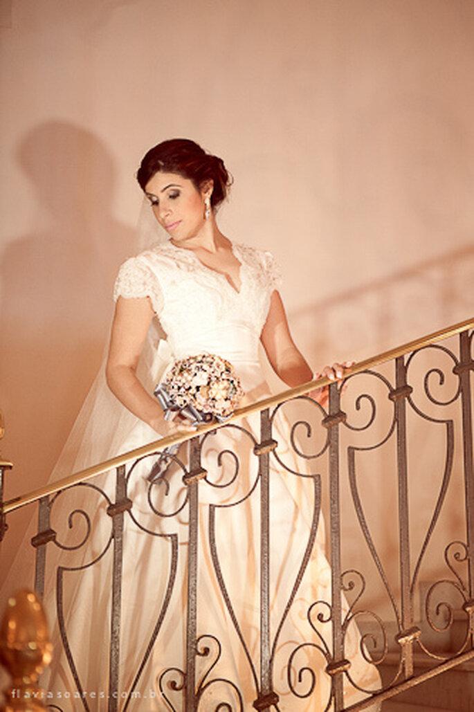 Pensez aux endroits où faire les photos de votre mariage. Photo: Flavia Soares