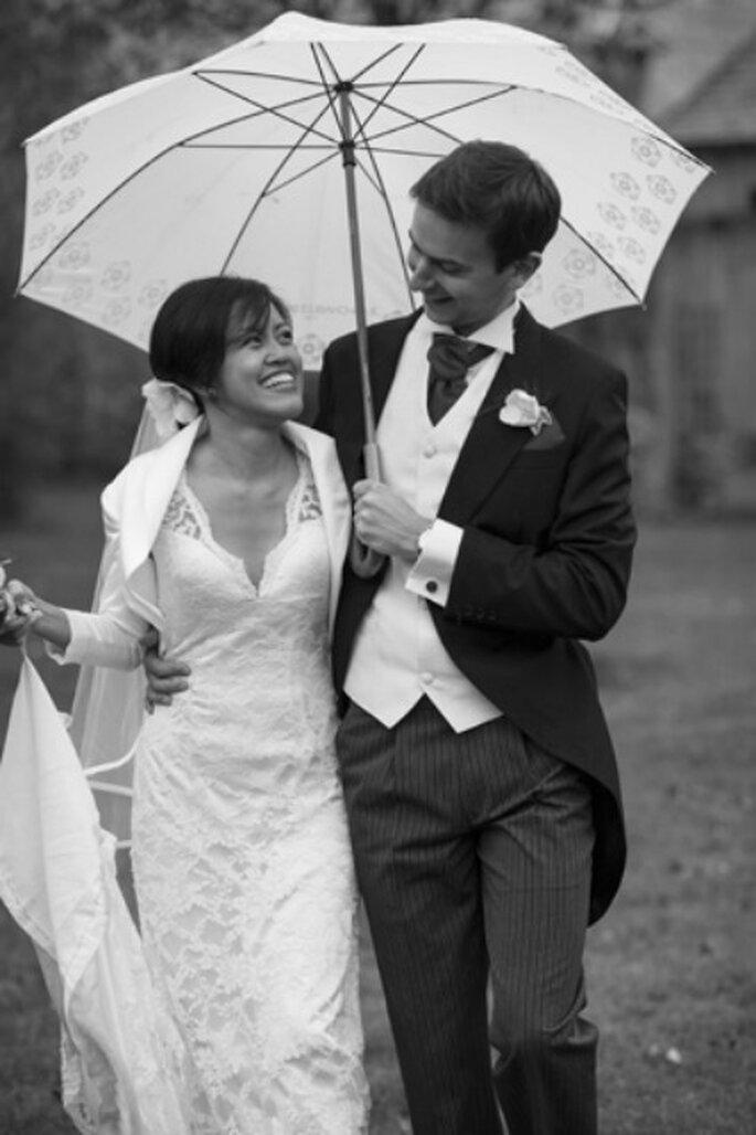 Mariage sous la pluie : des photos aussi réussies ! - Photo : Sébastien Letourneur