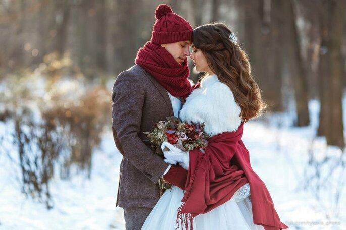 Зимняя свадьба. Советы стилистов