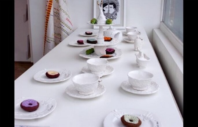 Buffet tea party - Undergrowthdesign.com