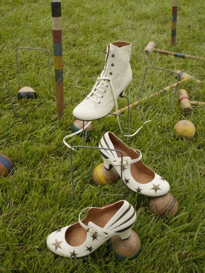 Weihnachtliches Design am Schuh – Foto: bhldn