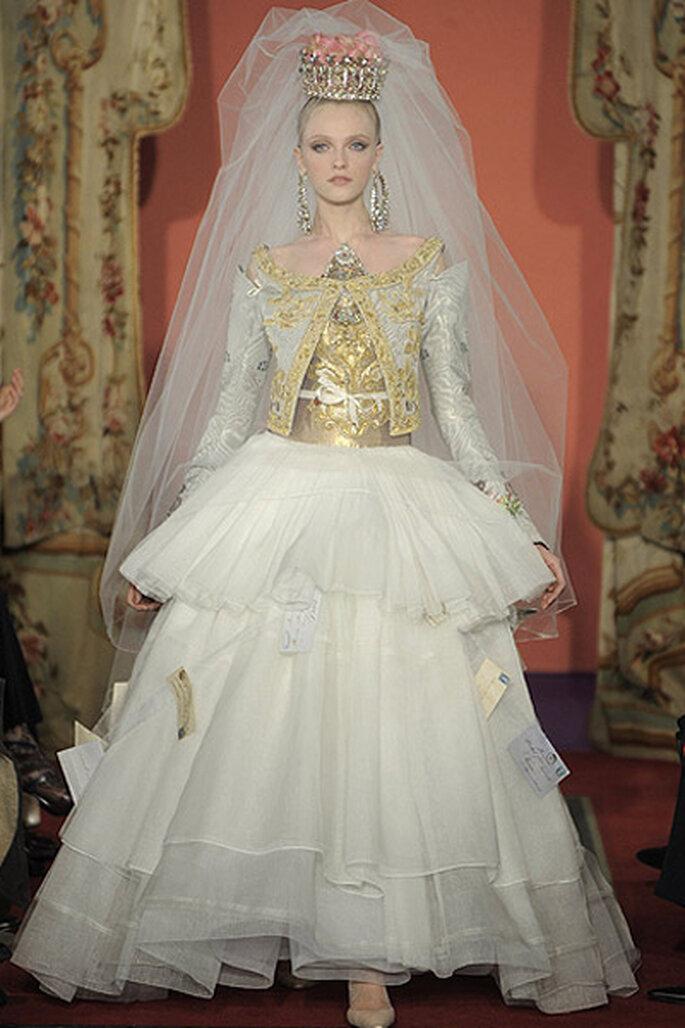 Vestidos de novia alta costura más originales - Christian Lacroix