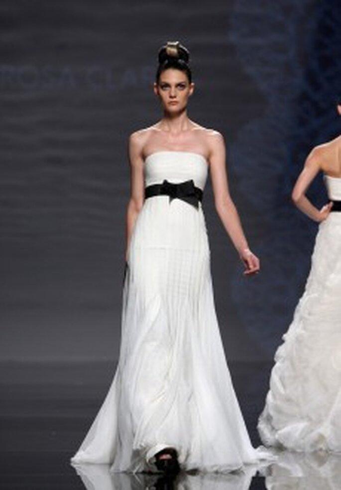 Brautkleider von Rosa Clará schwarze Kollektion 2011