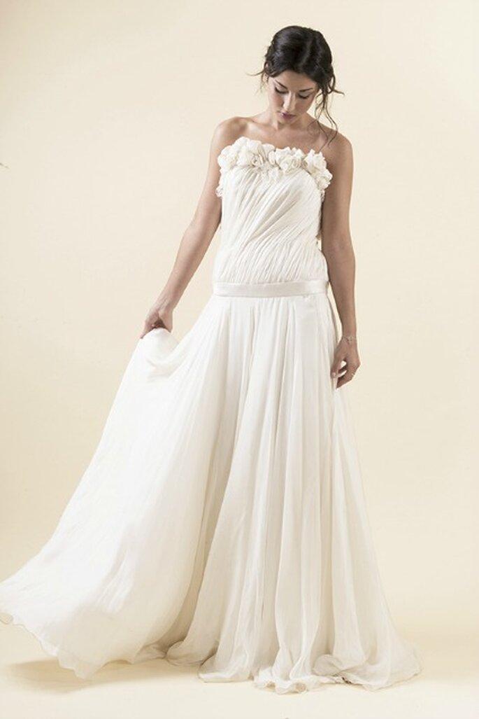 Robe de mariée sur mesure Steva Couture, modèle Marie