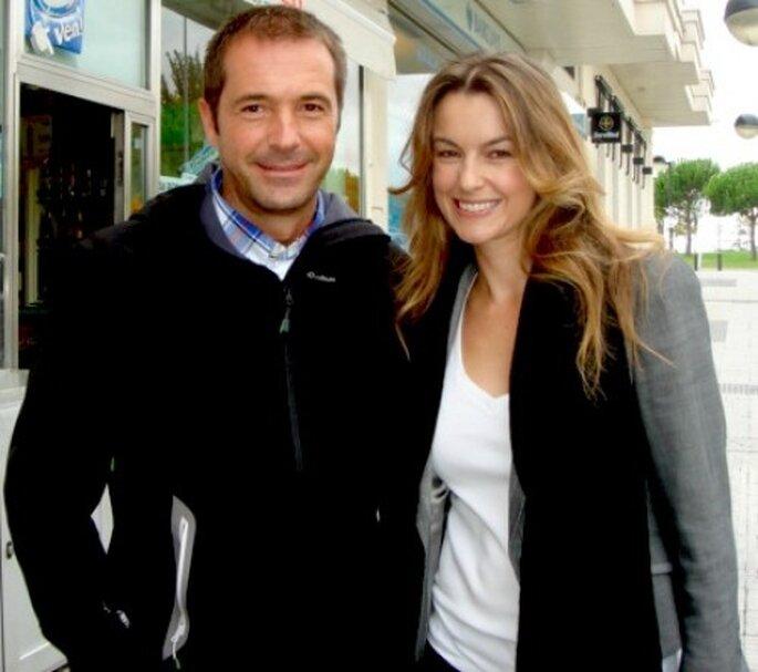 """Foto con Manu Carreño tras la entrevista para """"El revés de las bodas"""""""