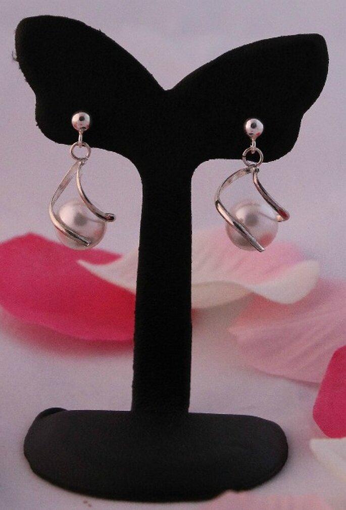 Boucles d'oreilles Coeur Sucré, modèle Amandine - Photo : Coeur Sucré