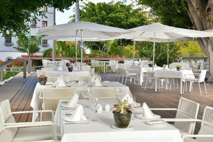 Glamourous destination wedding hotel in Tenerife