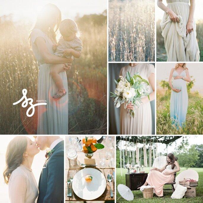 Inspiración para novias embarazadas - Fotos: Rylee Hitchner, Sarah Culver, Elie Saab, Dave Richards y Mr. Haack - Diseño de Raisa Torres para SZ Eventos