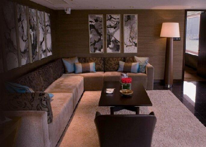 Suite für Ihre Hochzeitsreise im Intercontinental Hongkong.