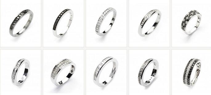 En Rabat os asesorarán para elegir las alianzas de vuestra boda según vuestro estilo y necesidades.