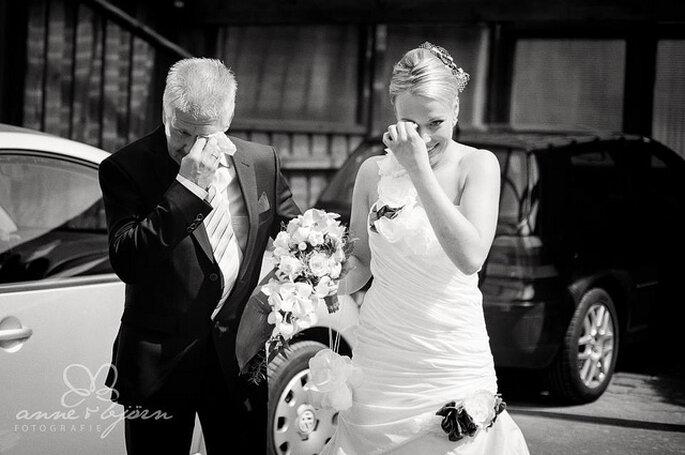 Le père de la mariée, un rôle phare le Jour J - Photo: Anne-Kathrin Behnke - www.anneundbjoern.com