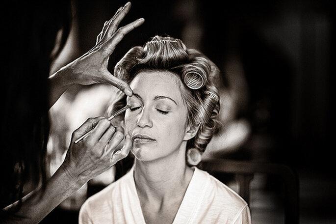 Suivez les tendances maquillage de mariée 2014 - Photo : Kevin Mullins