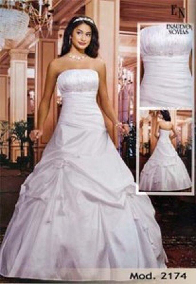 Vestido de novia para boda civil con el que lucirás como toda una