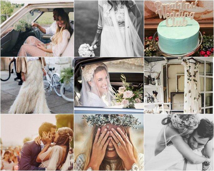 Fotos vía Instagram de las cuentas seleccionadas en este artículo