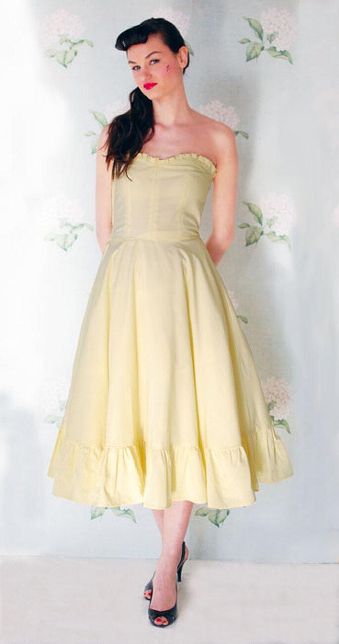 Un delizioso abito da sposa vintage