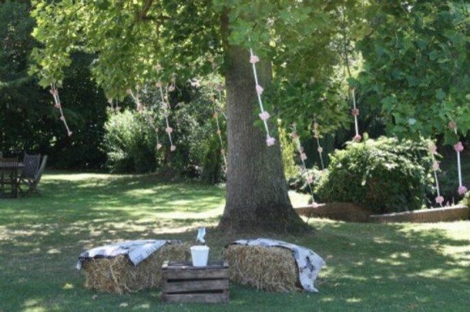 La nature environnante doit être mise en valeur pour la réception de mariage - Photo : Un mariage sans nuages