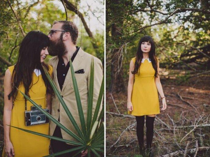 Séance de photo dans les bois avec une touche hipster - Photo Alyssa Shrock