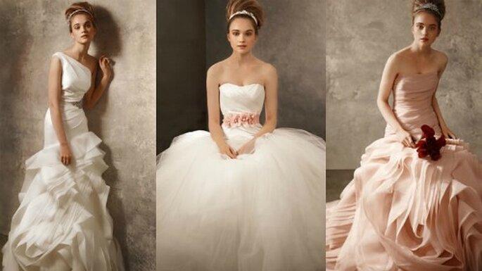 5 white by Vera Wang for David's Bridal