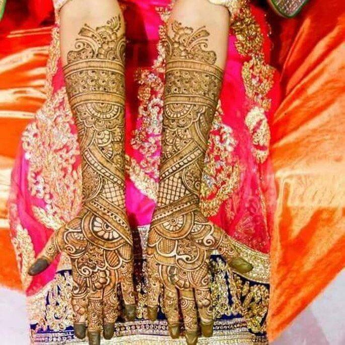 Mehndi Artist: Geeta Patel.