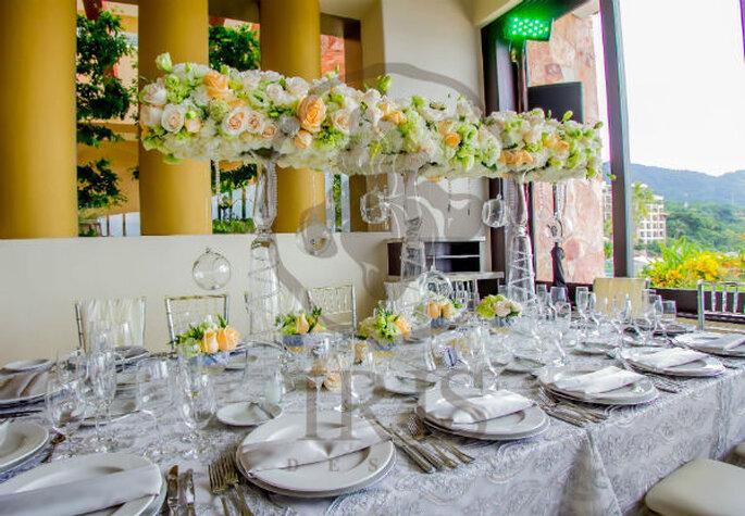Diseño y ambientación para bodas. Foto de Iris Design