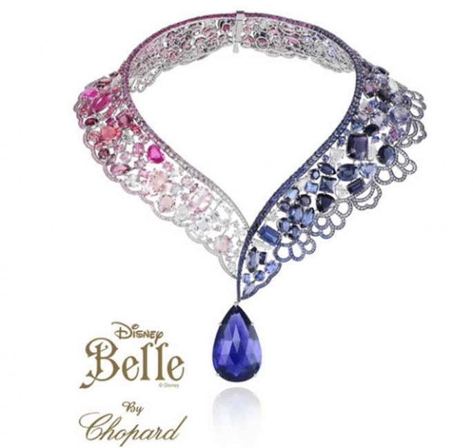 Gargantilla para novia inspirada en la Bella y la Bestia - Foto Chopard