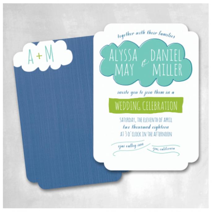 Las invitaciones de tu boda serán la mejor imagen para reflejar tu estilo - Foto Smitten On Paper
