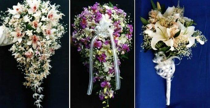 Ramos de novia.    Foto: Flores Tequendama