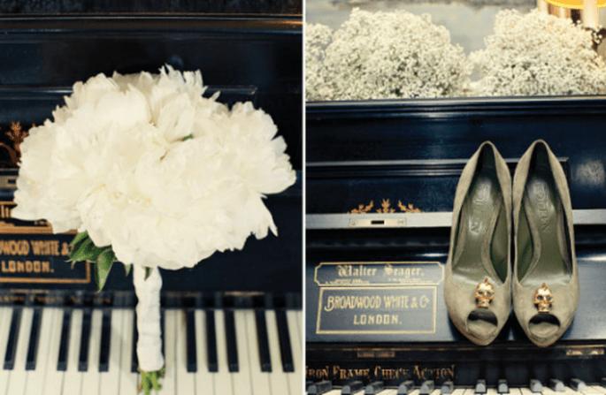 Resalta tus accesorios con escenarios decorativos vintage - Foto Dottie Photography