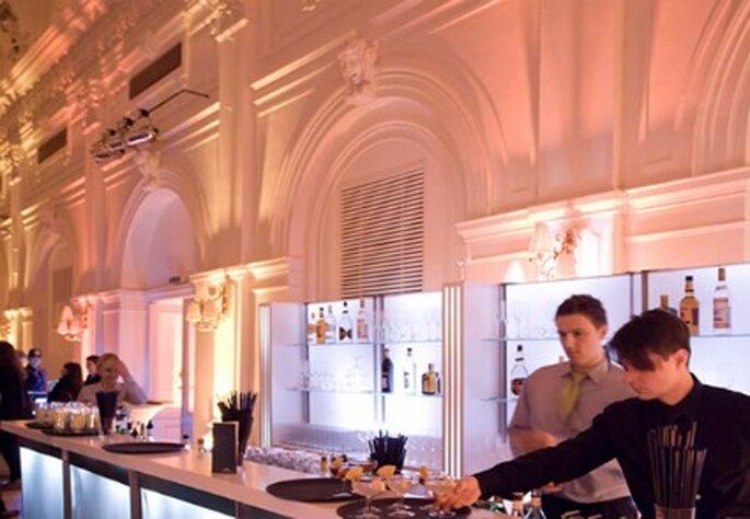 Für eine spektakuläre Hochzeitsfeier sorgt das Casino Baumgarten. Foto: Casino Baumgarten