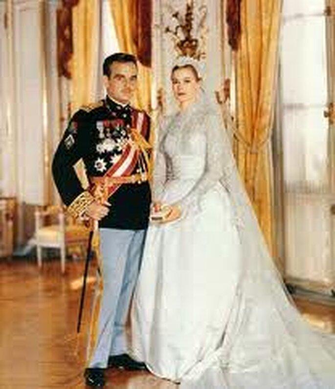 1. Vestido de novia de Grace Kelly's diseñado por Helen Rose. El vestido con más replicas de la historia.