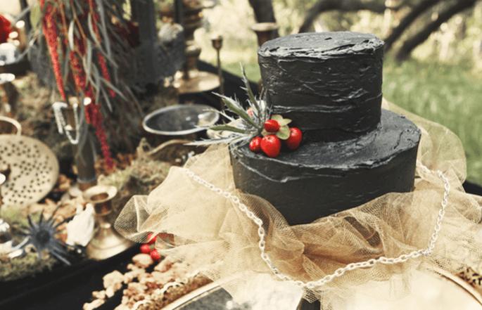 Una boda con detalles en color negro - Foto D Park Photography