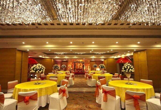 Hotel: Jaypee Siddharth.