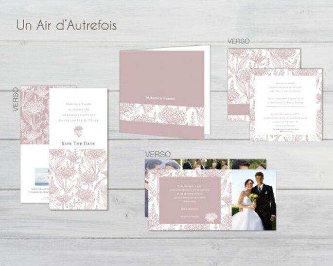 Faire-part de mariage personnalisables, exclusifs et de grande qualité : Carteland