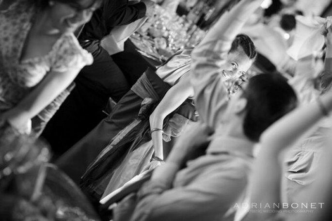 Pas de raison de stresser le jour du mariage si on a bien tout anticiper... - Photo : Adrian Bonet