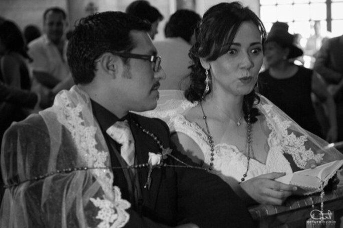 Haz que tu ceremonia se convierta en un ritual mágico para los dos - Foto Arturo Ayala
