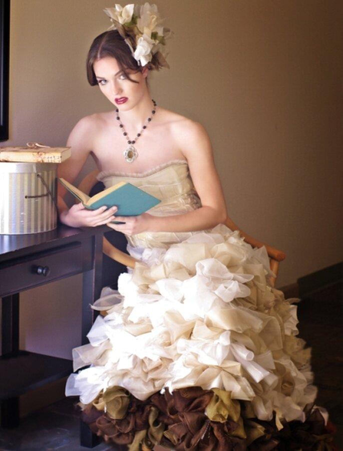 ombre wedding dress suknia ślubna