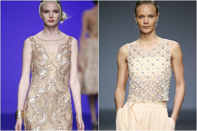 Modelos: Matilde Cano e Cristina Tamborero | Foto: Barcelona Bridal Week