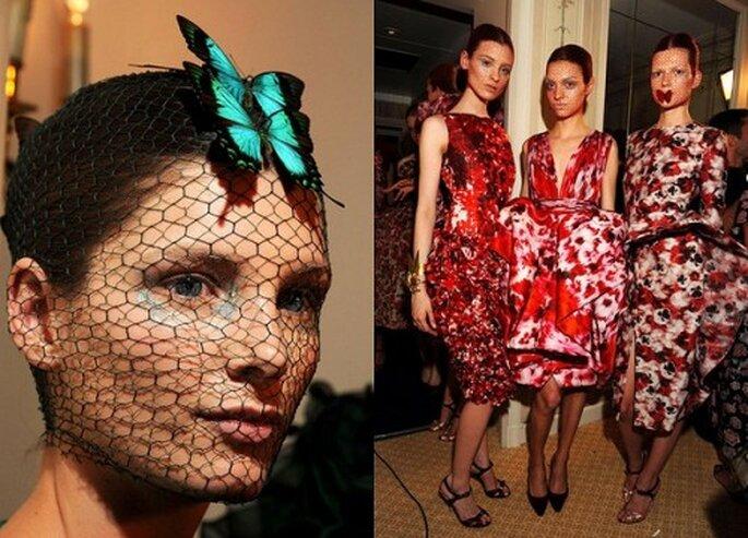 Peinados desfile Giambattista Valli Foto. Semana de la moda en París, Giambattista Valli Haute Couture 2012-2013