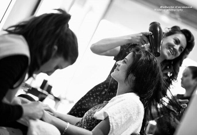 6 consejos para hacer un peinado de novia DIY - Foto Roberto Carmona